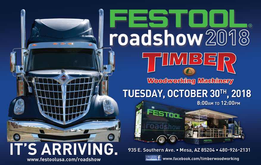 Festool Road Show @ Timber Woodworking