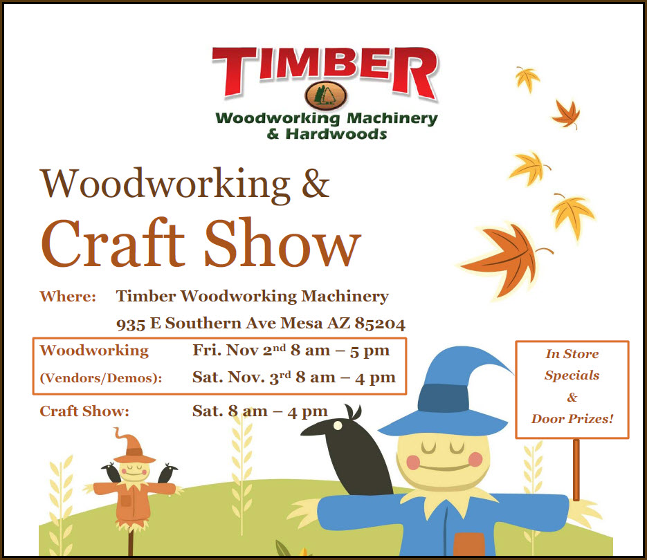 Timber Woodworking & Craft Show @ Timber Woodworking